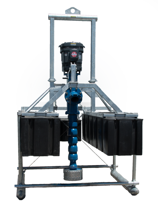 Canfield Custom Pumps Turbi-Float® with skid kit option